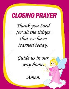 Opening and Closing Prayers in School (Ready to Print) - DepedClick Classroom Prayer, Classroom Door Signs, Classroom Charts, Classroom Quotes, Classroom Posters, Classroom Displays, Classroom Decor, Closing Prayer, Opening Prayer