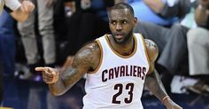 LeBron James Awards Game Balls to Friends and Foes