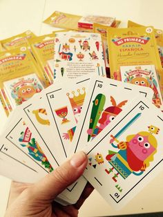 CHILDREN'S PLAYING CARD - M2F - STOCKLIN
