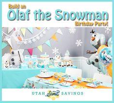 Build an Olaf the Snowman Birthday Party + a FREE Printable Invitation!