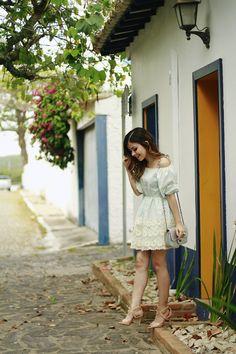 Blog da Lê-Moda e Estílo: Look - Sandália Nude