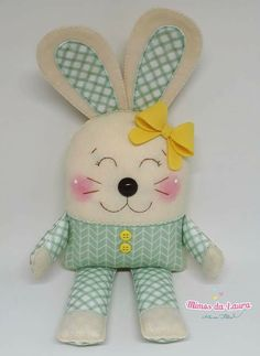 Amazing Home Sewing Crafts Ideas. Incredible Home Sewing Crafts Ideas. Sewing Toys, Baby Sewing, Sewing Crafts, Baby Crafts, Easter Crafts, Diy And Crafts, Crochet Projects, Sewing Projects, Sewing Stuffed Animals