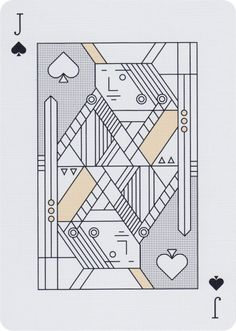 Lucky Draw, Green Edition Playing Cards - Art of Play Cool Playing Cards, Custom Playing Cards, Cool Cards, Playing Card Design, Line Art, Mouton Cadet, Jack Of Spades, Isometric Art, Principles Of Design