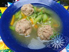 Cocina Costarricense: sopa de albóndiga