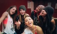 Selena Gomez, Francia Raisa Samantha Droke Ashley Cook, Charity Lynne Baroni and Laura Quinn