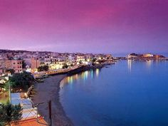 on the island of Crete - top of the list