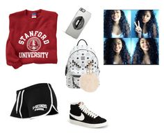 """""""Gym time"""" by megangainous ❤ liked on Polyvore featuring MCM, NIKE and Lipsy"""