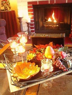 Decorating Ideas Vignettes   ... is part of 25 in the series Cozy Fall Decorating Ideas For Your Home