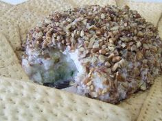 Pineapple Cream Cheese Ball dairy/soy/gluten free #appetizer