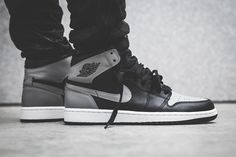"Air Jordan 1 Retro High OG – Black/Soft Grey ""Shadow"""