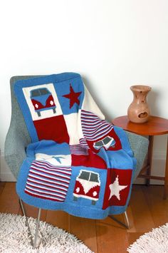 Campervan Blanket Kit in Wendy Mode DK with Free Pattern