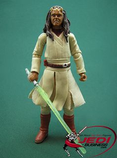 Star Wars Action Figure Agen Kolar (Revenge Of The Sith), Star Wars The Legacy Collection