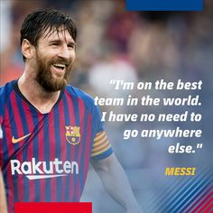 b4153deb6 For all those people who keep challenging Lionel Messi to move to another  club in order to show he can perform anywhere