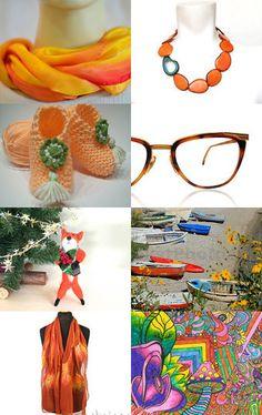 Happy Orange Day by Ayelet Braun Zur on Etsy--Pinned with TreasuryPin.com