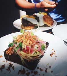 This Toast Has Everything But The Kitchen Sink Nyc Food Drinks