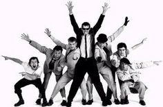 Chas Smash, third left, with Madness, Band Pictures, Group Pictures, Stock Pictures, Musician Photography, Band Photography, Large Group Photography, Ska Music, Group Poses, Musica
