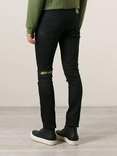 Raf Simons, Sterling Ruby Skinny Fit Jeans (Black)