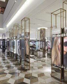 Selfridges Beauty Hall by HMKM, Manchester store design