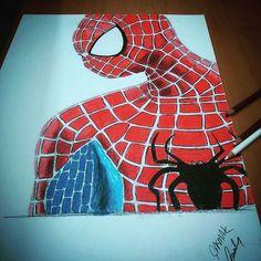 #spiderman #çizim #cumartesi #pazar #resim #art #pencil #drawing #pastel #photo #jj #likeforlike #marvel #örümcek #adam #like4follow #like4like #best #nice #good #statigram #tweegram #amazing #photooftheday