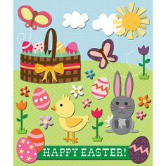 Holidays > Easter > Easter Stickers: Stickers Galore