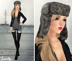 Lamb ❈ Desire Lines  ❈ Demo available ❈ Hat included w/ 12 variations  ❈ 10 haircolor packs  ❈ 188L each