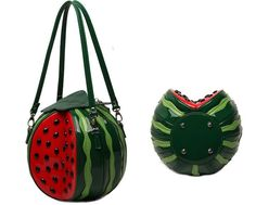 2015 fashion creative red and green color lovely round watermelon bag women cross body fruit shaped personalized handbag-in Shoulder Bags from Luggage & Bags on Aliexpress.com | Alibaba Group