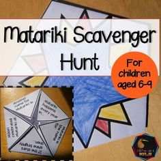 Matariki Activity for junior classrooms - doubles as a craft activity too!