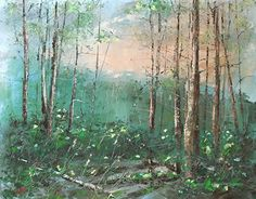 """Check out new work on my @Behance portfolio: """"Wet forest"""" http://be.net/gallery/38427145/Wet-forest"""