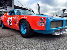 Richard Petty's real 1973 Dodge Charger.   #43.                        `™`