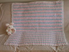 Pretty and Puffy Crochet Afghan | FaveCrafts.com
