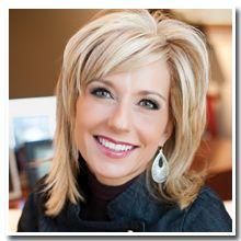 Beth Moore...love her hair!