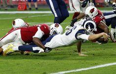Game #12 2017: Rams win Cardinals, LA Rams-32 vs. Cardinals-16 @ Arizona, Rams improves to 9-3, 1st NFC West. (twitter.image) 12.3.17 (Sun)