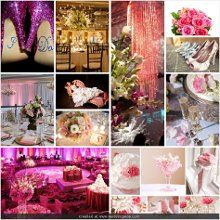 This is the 'inspiration board' i just created using the wedding wire website. Seriously, the best wedding planning site ever!!! Oh, and my sister bree was the inspiration for the glamorous pink wedding board :)