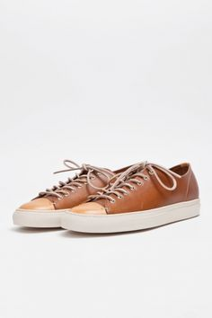 Tanino Low Leather Brown $390