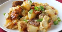 Loaded Baked Potato And Chicken Casserole | Inspired Dreamer