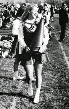 Meryl Streep as a High School Cheerleader, Bernardsville, New Jersey, ca. 1966. via reddit
