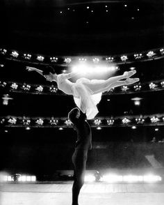 Margot Fonteyn and Rudolf Nureyev photographed on stage at the Royal Opera House, Covent Garden, 1961