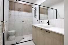 #newhome #newstyle #yourhome #firsthome #bathroom #basin #shower #relax #rewind #blackaccents #contemporary #style