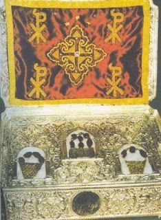 Agion Oros - Mount Athos: 0038 - Holy Relics kept at Athonite Monasteries.