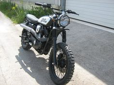 Harley Davidson Sportster scrambler :')