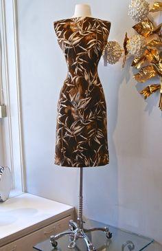 60s Dress / Vintage 1960s Sassy Hawaiian Wiggle by xtabayvintage, $148.00