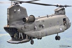 New York Army National Guard Chinook by Ken Middleton