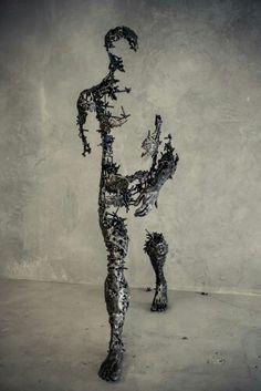 Disintegrating - Regardt van der Meueln - Sculpture - Contemporary Artist