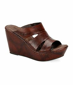 09e05642b6ad Born Amalia Wedge Sandals  Dillards
