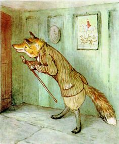 """""""The Tale of Mr. Tod"""" by Beatrix Potter"""