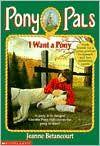 Maybe Kaita needs some Pony Pals books.