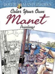 The art of Claude Monet reveals a delicately colored world of harbors and beaches, roads and gardens. With this book, serious colorists can create their own...