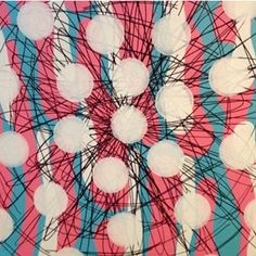 JON COFFELT - Pink and Teal Burst