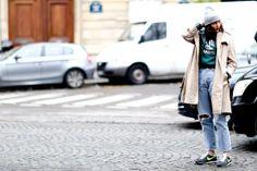 Street Fashion at Paris Fall 2013