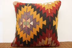 FAST DELIVERY Decorative Kilim pillow cover Turk by kilimwarehouse, $78.00
